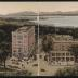 Hotels Vermont and Van Ness, Burlington, Vt., with Views of Lake Champlain and Adirondacks [sic] Mountains