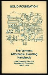 Solid Foundation: The Vermont Affordable Housing Handbook