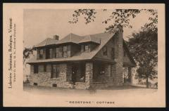 Lakeview Sanitarium, Burlington, Vermont, 'Redstone' Cottage