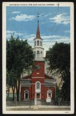 Unitarian Church, 1816, Burlington, Vermont