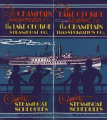 Champlain Transportation Co., The: Complete Steamboat Schedules Season 1931
